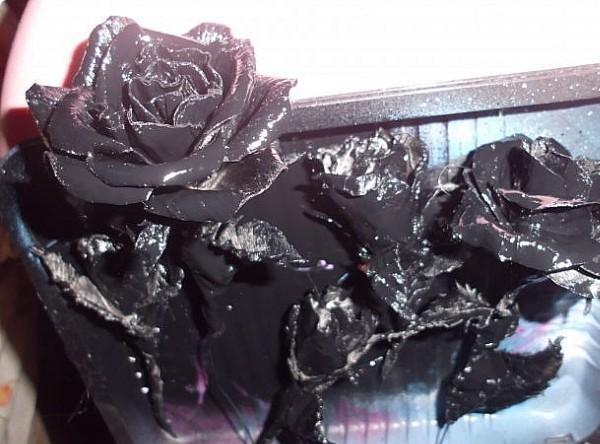 Цветок из бумаги под кованину мастер-класс