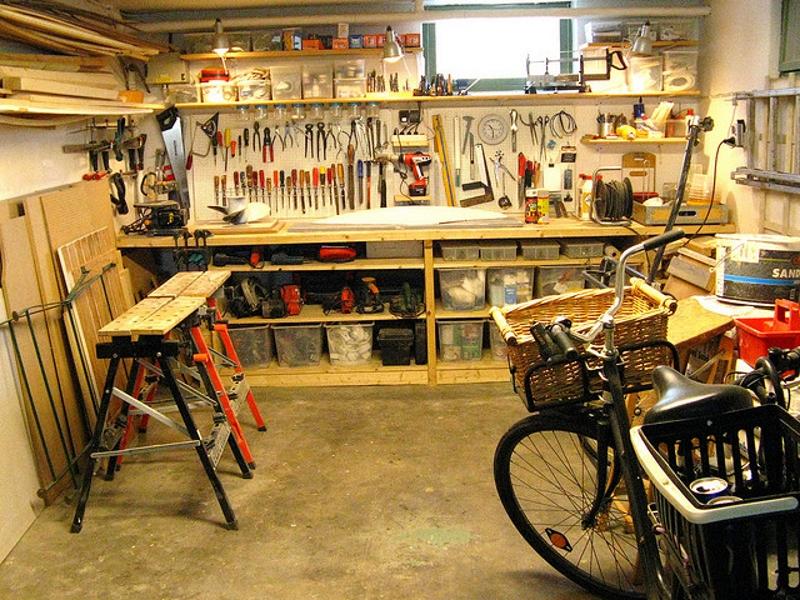 Вещи в гараж своими руками