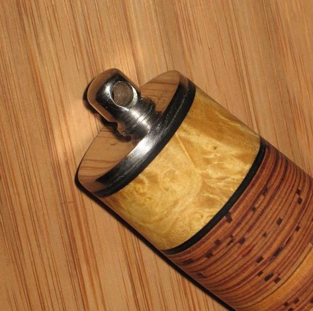 Ручка для ножа из дерева и бересты своими руками