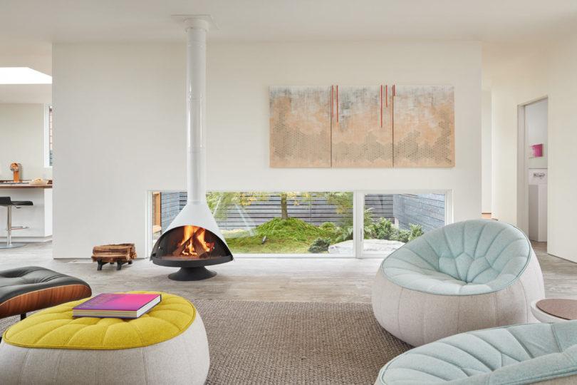 Современный дом с арт-студией в Сиэтле