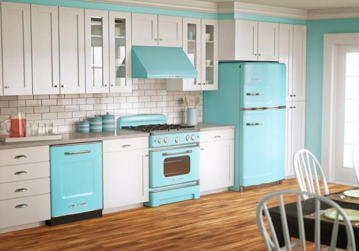 Цветовое решение для кухни в 2017- белый 2